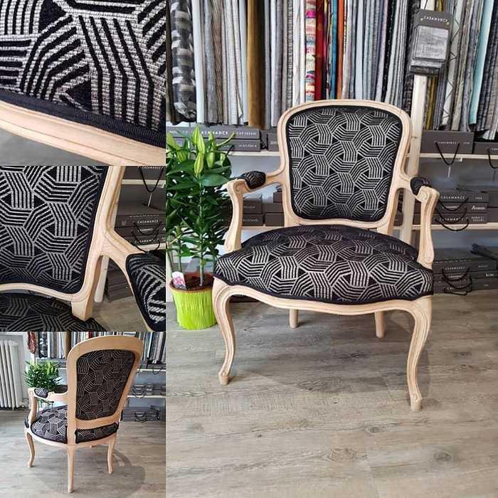 Restauration d''un fauteuil LOUIS XV 0
