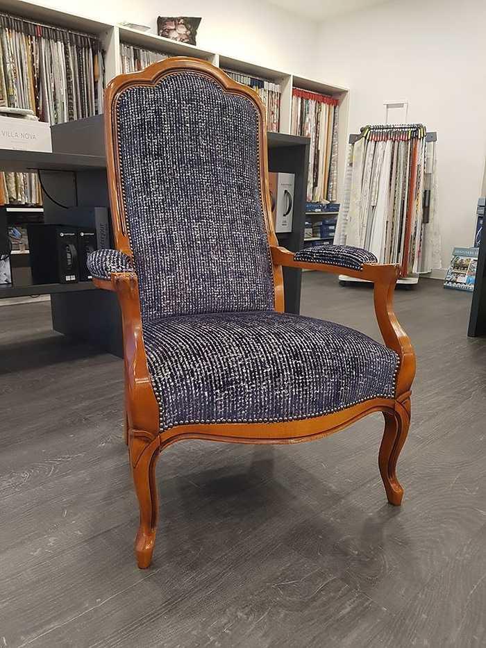 Restaurer un fauteuil Voltaire 0
